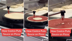 Costco's Pizza-Making Process Is Mesmerizing