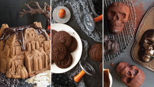 Make a Bundt Cake Shaped Like a Haunted House with the New Nordic Ware