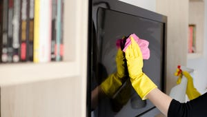 You Can Clean Your Flat-Screen TV with This Pantry Staple