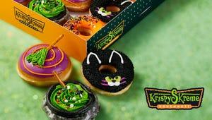 Krispy Kreme's Halloween Doughnuts Are Spooky Cute