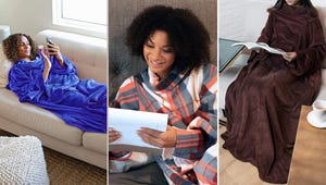 5 Sleeved Blankets to Keep You Warm and Cozy This Winter