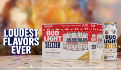 Bud Light's Ugly Sweater Seltzers Are the Holidays in a Can