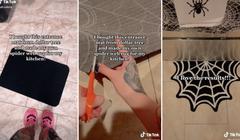 This DIY Spiderweb Rug Is TikTok's Latest Viral Craft