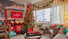 You Can Book a Hallmark Christmas Hotel Stay