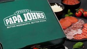 Papa John's Jack O'Lantern Pizza Is Back