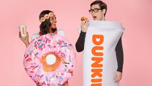 Get Ready to Go as a Dunkin' Donuts Order for Halloween