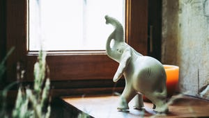 Here's Why You Might See an Elephant Statue by Someone's Door