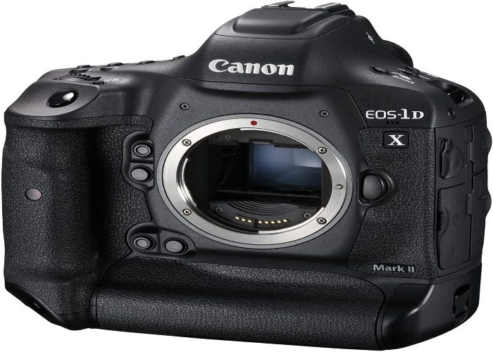 Canon digital SLR camera without the lens