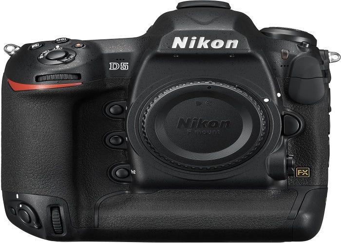 Nikon digital SLR camera with the cap on