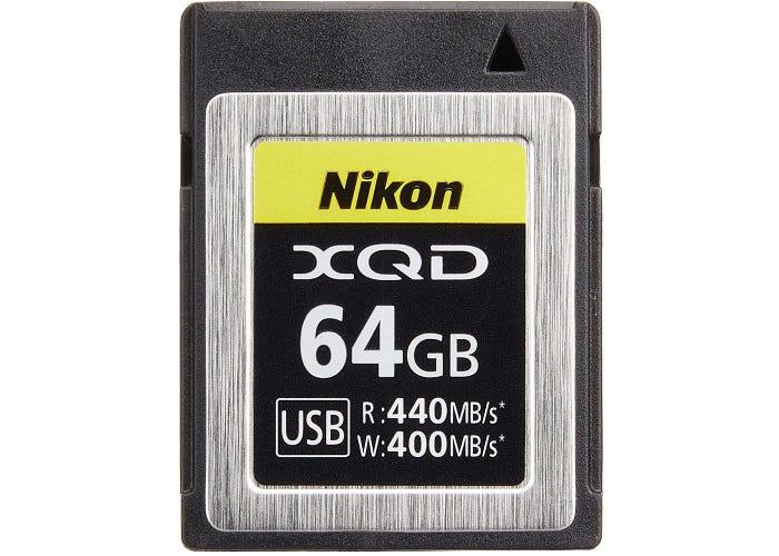 Nikon XQD card