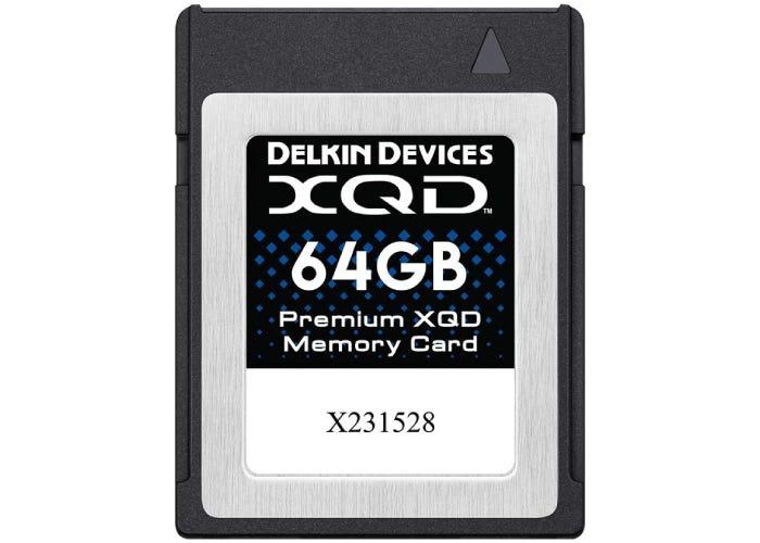 Delkin XQD card