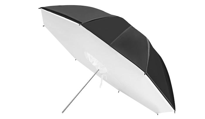 black photo umbrella