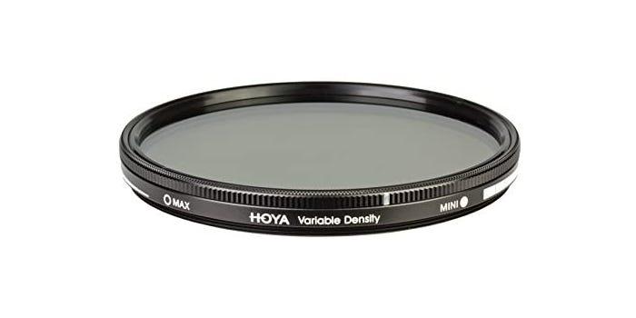 semi-sheer neutral density filter with a black rim
