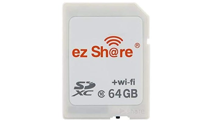 off white and white SD card
