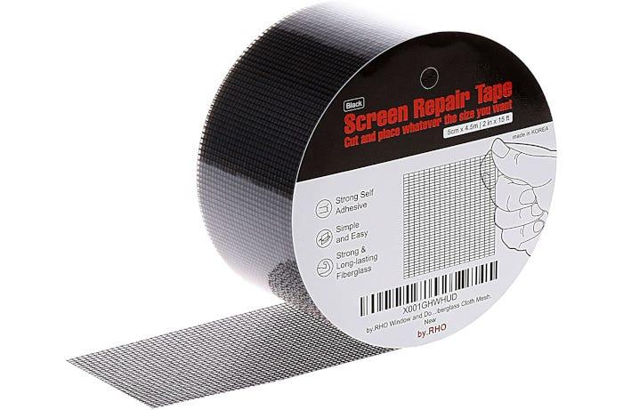 round ribbon-like roll of window screening
