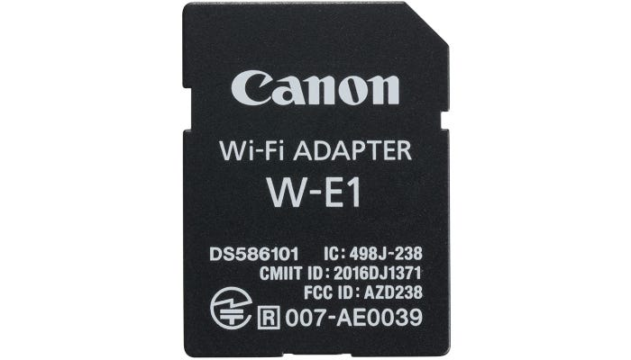 black SD card with white writing