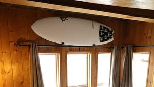 Put Your Surfboard on Display with These Racks