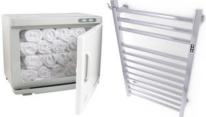 The Best Towel Warmers for Your Home Spa