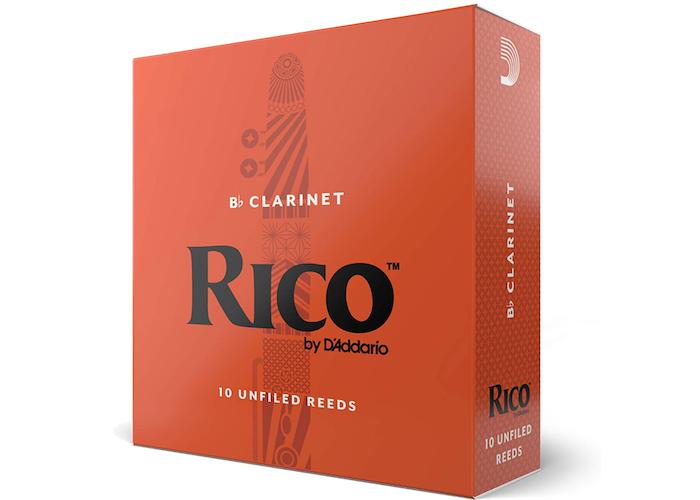 orange box of clarinet reeds