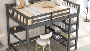 Save More Space with These Loft Beds
