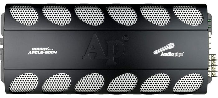 Audiopipe APCL2004 4-Channel amp with screw-down hookups