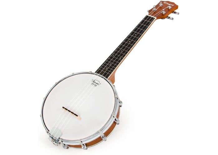 Rear-facing 4-string banjolele