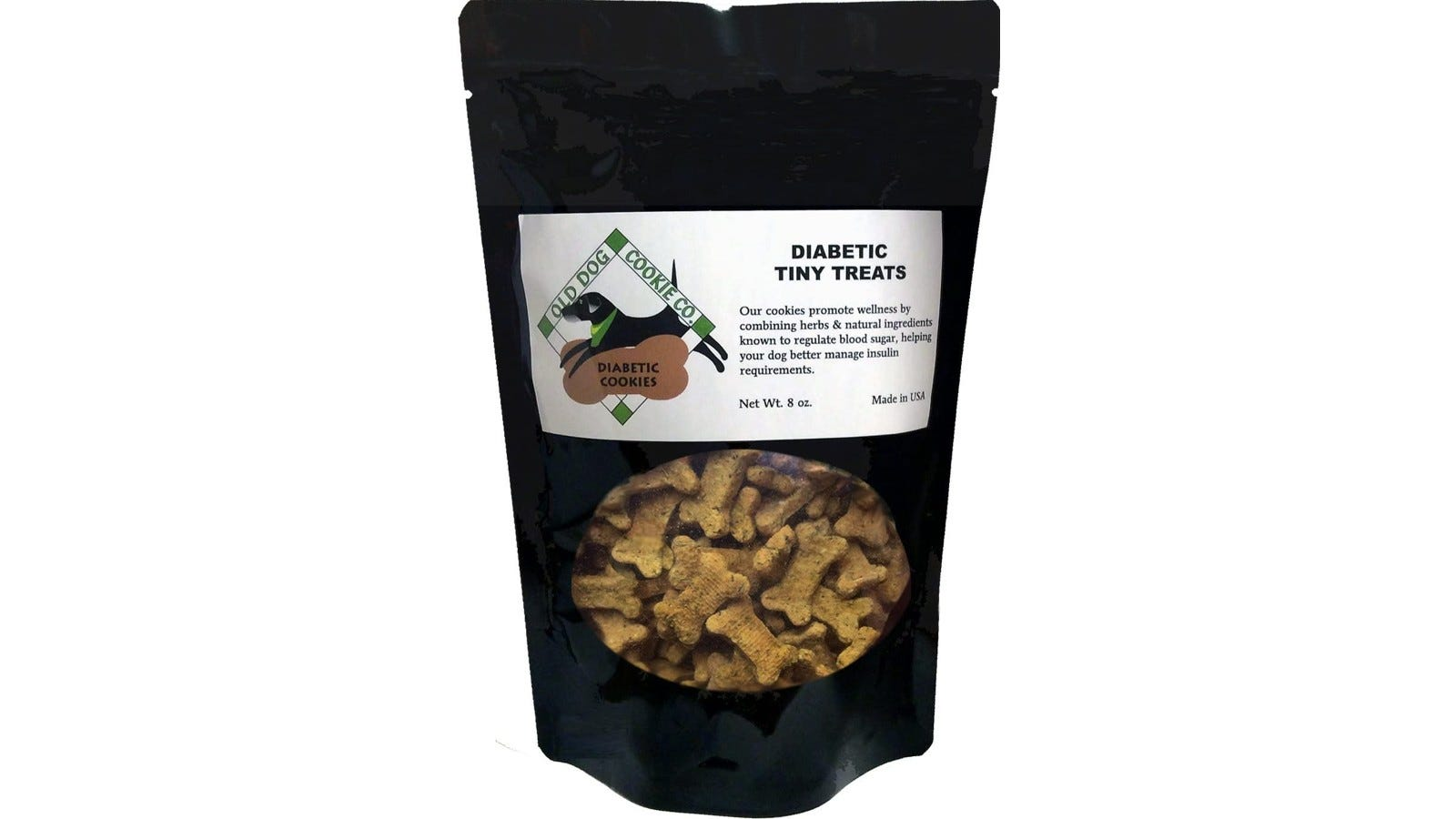 A dog treat made of all-natural herbal ingredients