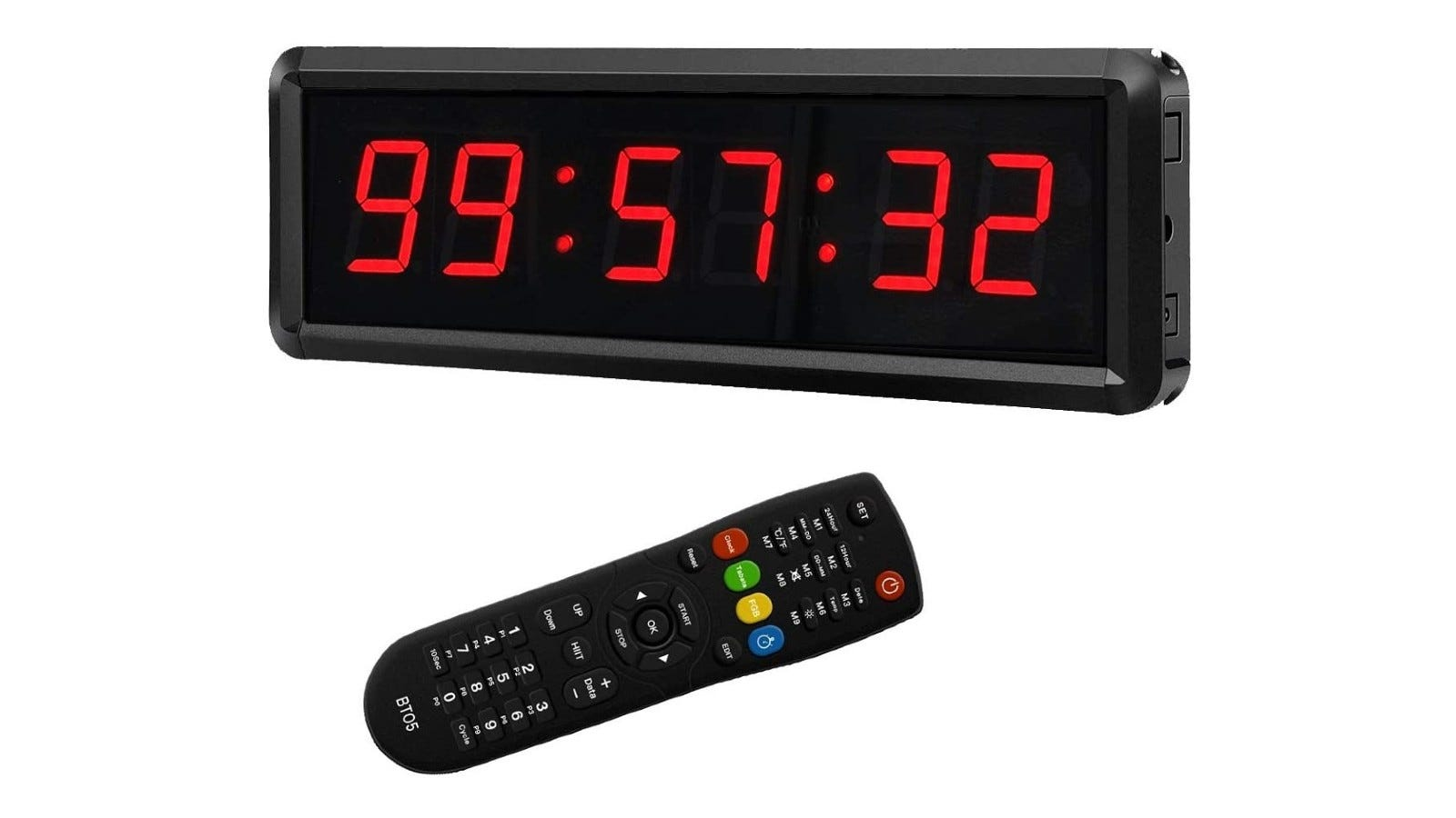 a multifunctional countdown timer and a remote