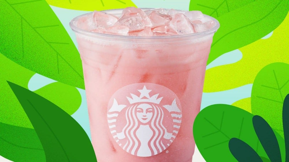 Starbuck's Pink Drink.