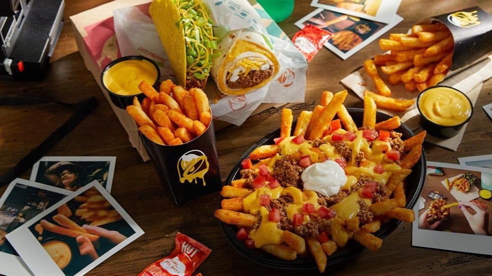 Taco Bell's nacho fries are coming back.