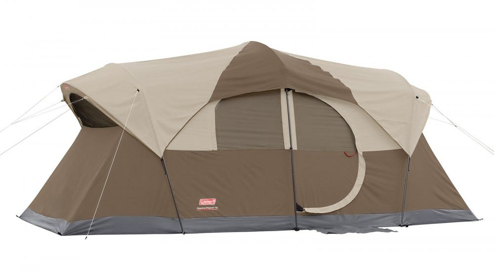 The Coleman WeatherMaster 10-person tent.