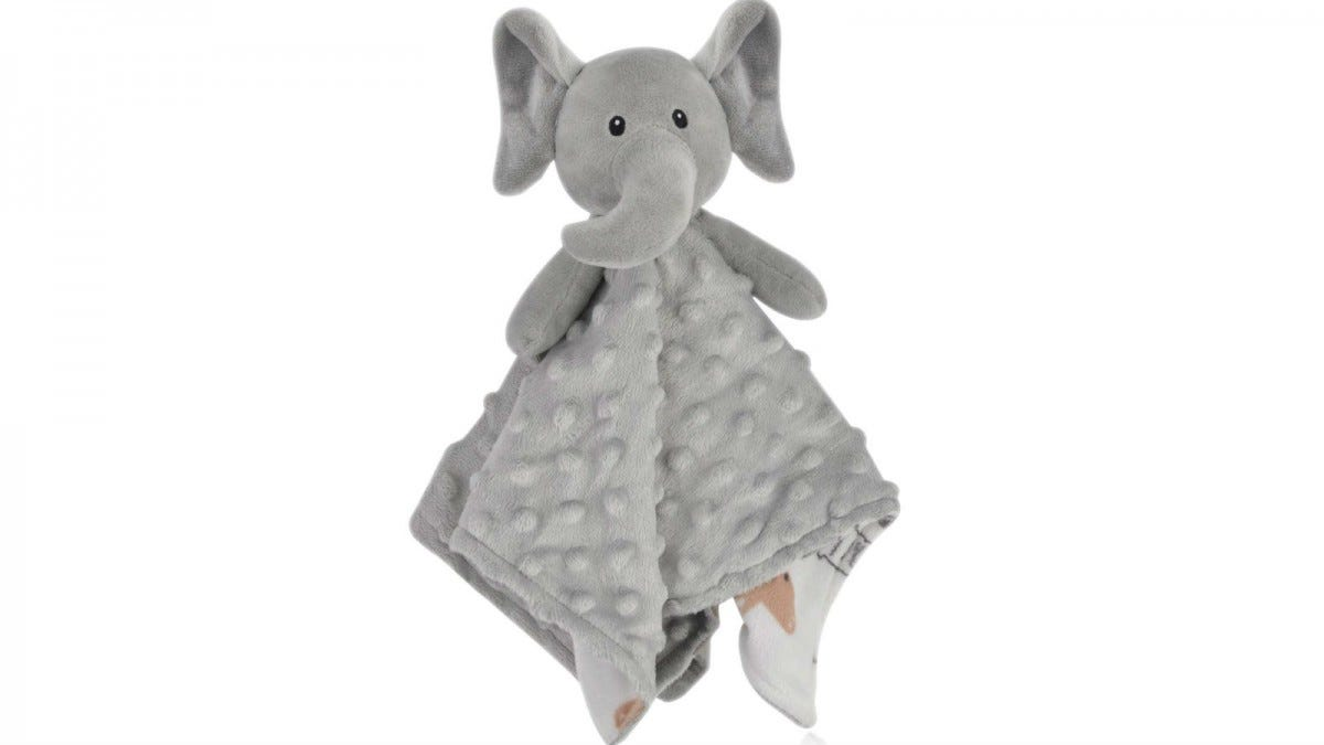 Boritar Elephant Baby Security Blanket