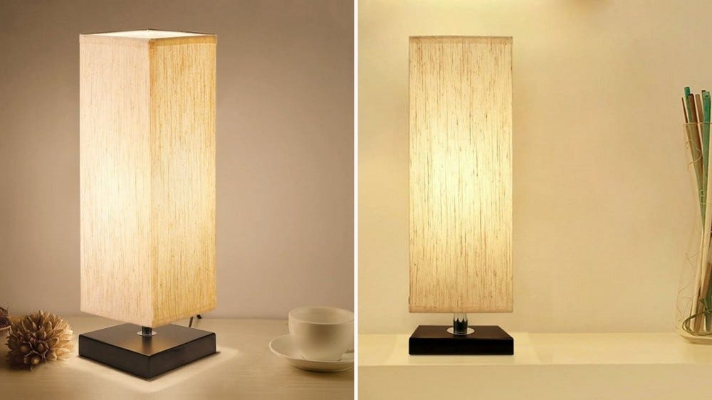 Two Aooshine accent lamps.