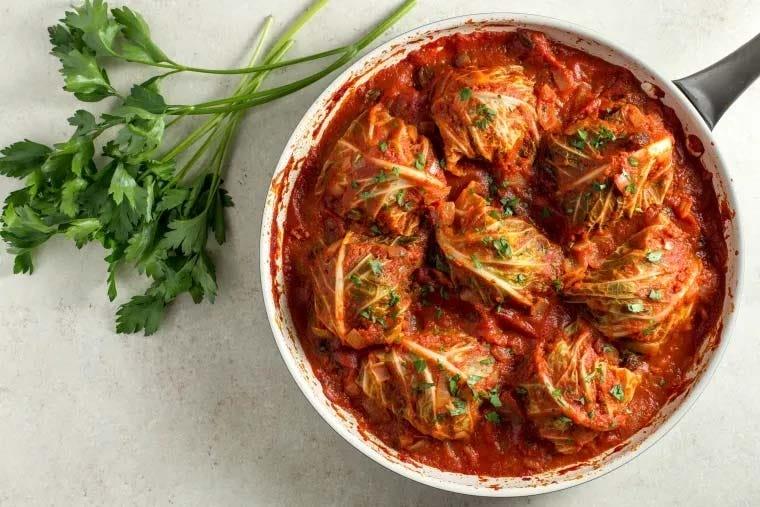 savoy cabbage rolls