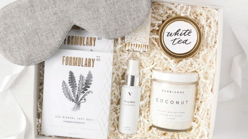 The Relax and Restore Gift Box.