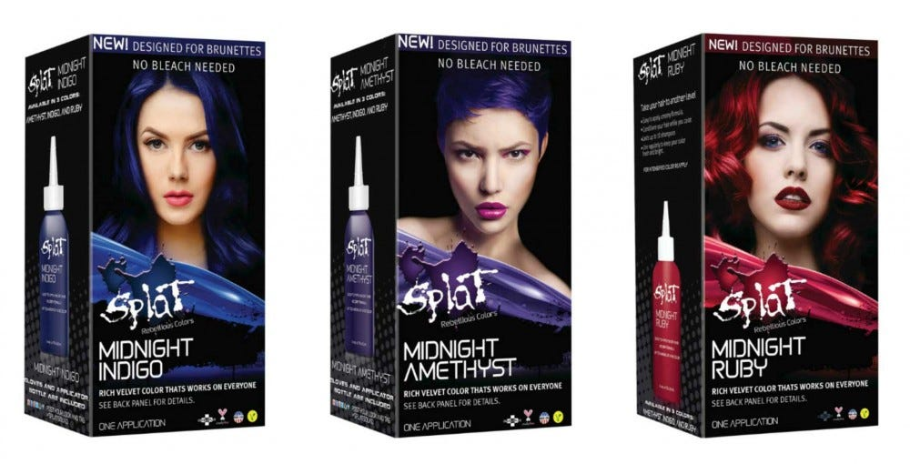 Splat Hair Dye for Brunettes