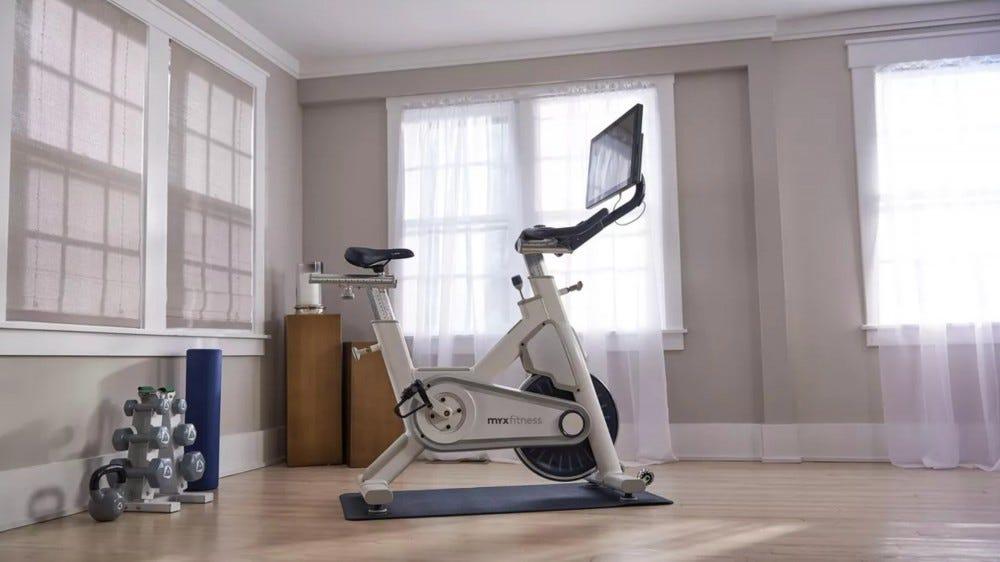 A MYX Fitness Bike.
