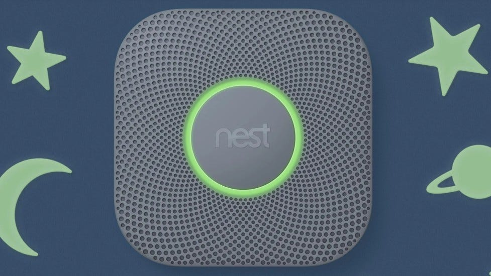 The Google Nest Sensor.