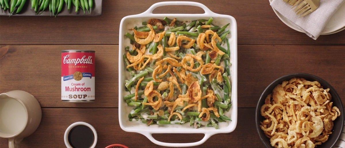 green bean casserole- campbells.com
