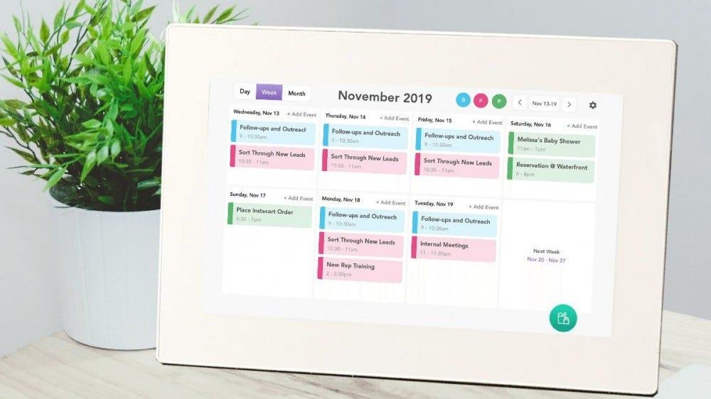 The Skylight Digital Calendar.