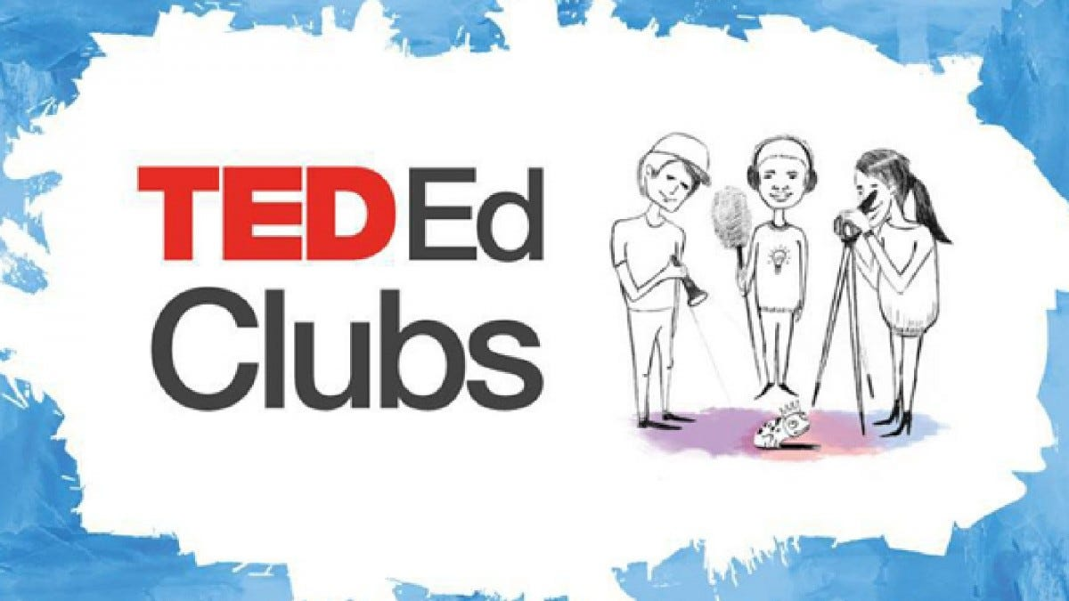A promotional image for Ted Ed Clubs.