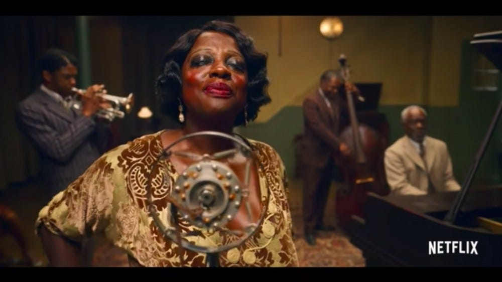 Ma Rainey's Black Bottom premiers on Netflix this week.