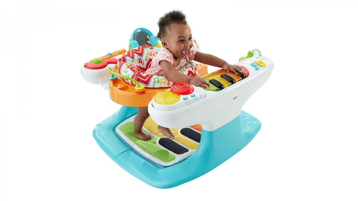Fisher Price 4-in-1 Step 'n Play Piano