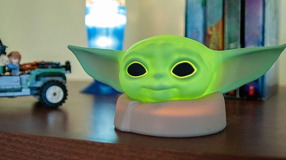 Baby Yoda night-light