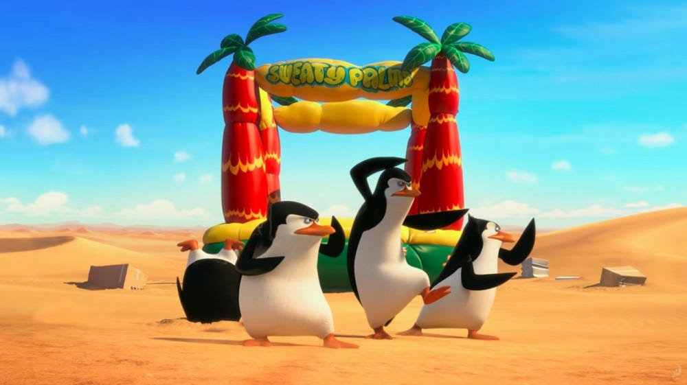 Dreamworks' Penguins of Madagascar is coming to Netflix.