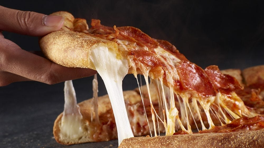 Papa Johns is launching stuffed crust pizza for the first time.