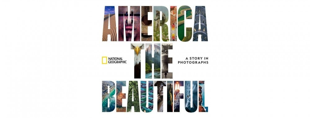 """The cover of """"America the Beautiful."""""""