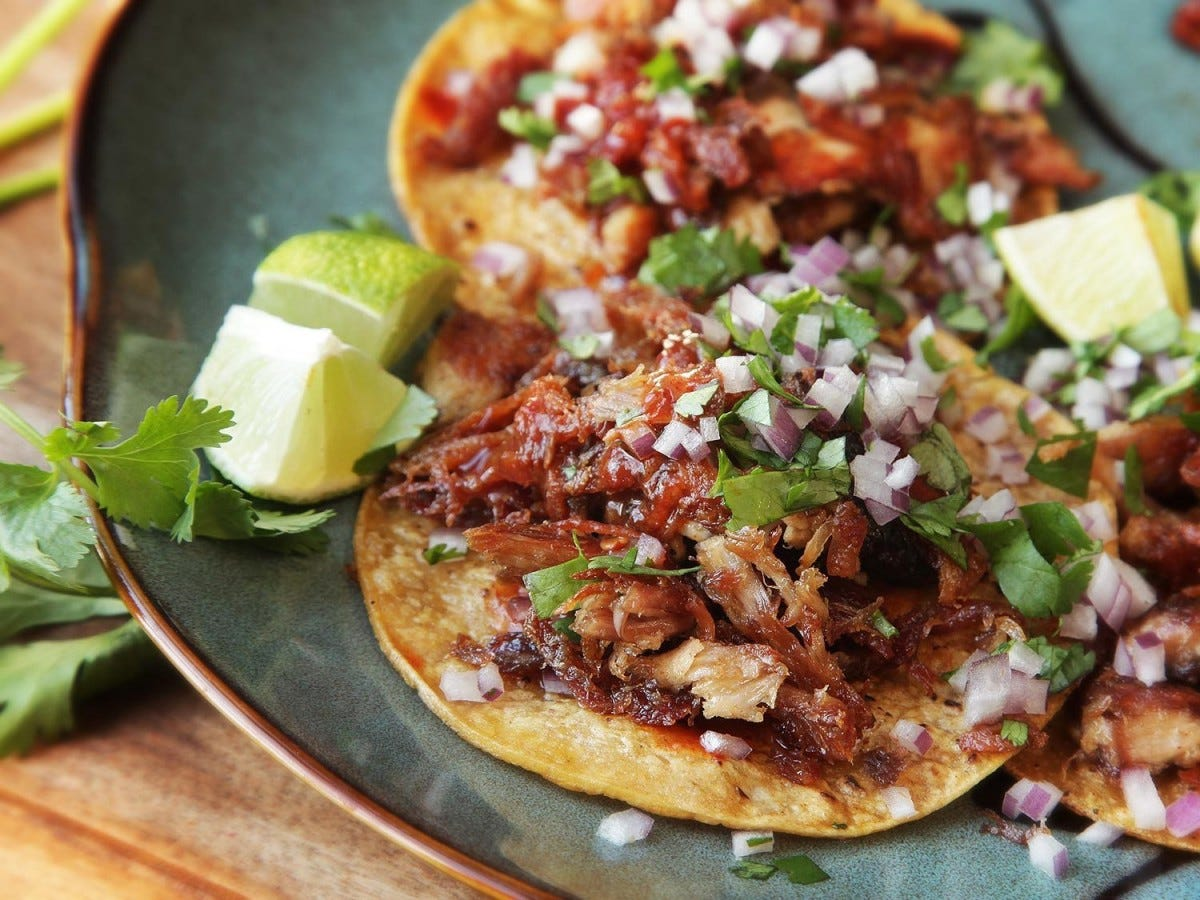 J Kenji Lopez - turkey carnitas tacos from serious eats