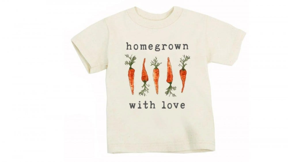 The Homegrown with Love Tee.
