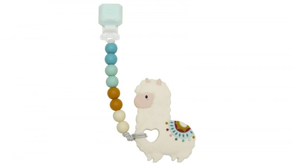 Loulou Lollipop Llama Teether Set